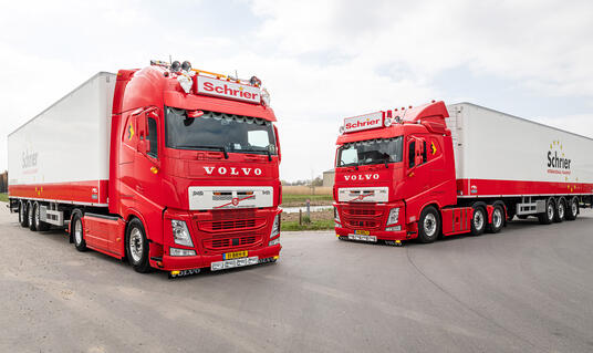 Schrier Int. Transport over de keuze voor Volvo FH I-Save