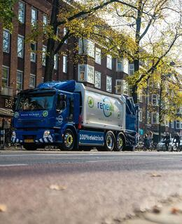 Renewi zamelt afval in met Volvo FE Electric